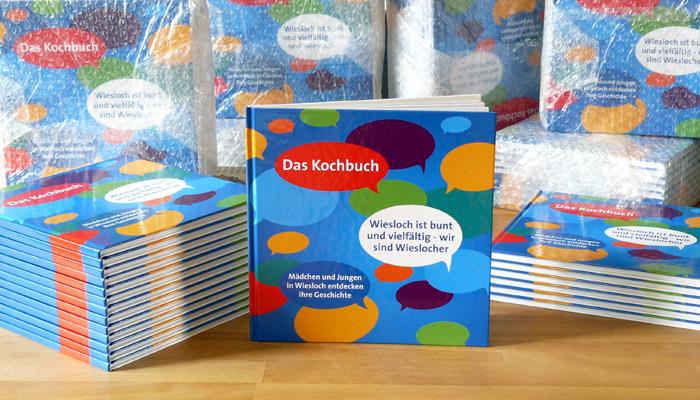 Gestaltung Kochbuch Kulturforum Suedliche Bergstrasse Wiesloch Grafik Design