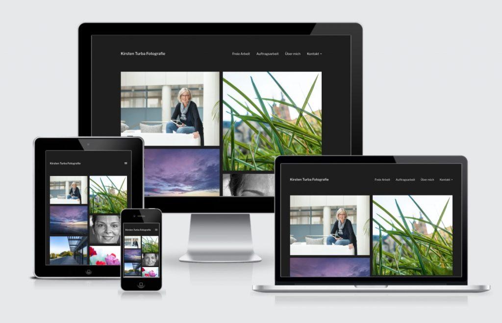 Homepage Fotografie Kirsten Turba Malsch Webdesign