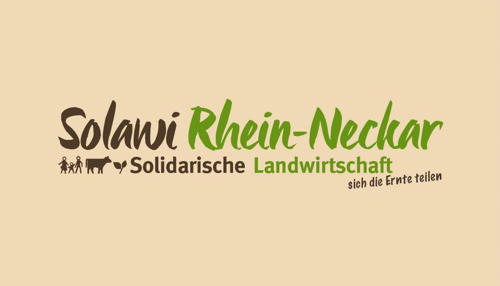Logo Design Solidarische Landwirtschaft Rhein Neckar