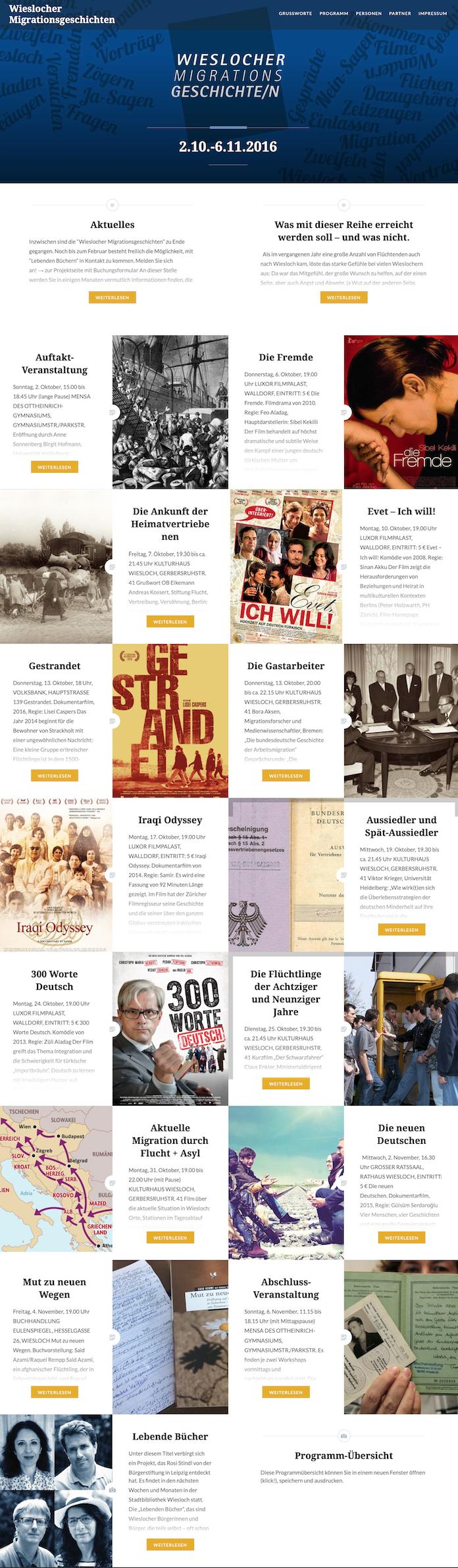Startseite Homepage Wieslocher Migrationsgeschichten