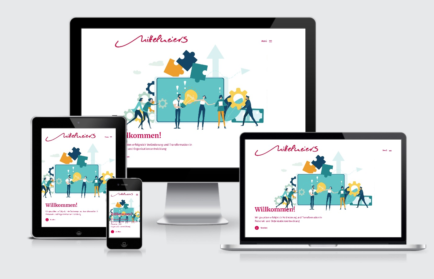 Internetauftritt Mittelmeiers Beratung Frankfurt Wiesloch Webdesign
